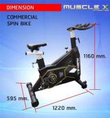 จักรยานSpinbike รุ่น MuscleX Commercial